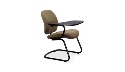 ART DESIGN INTERNATIONAL FLEX SIDE OFFICE CHAIR WITH FLIP UP TABLE