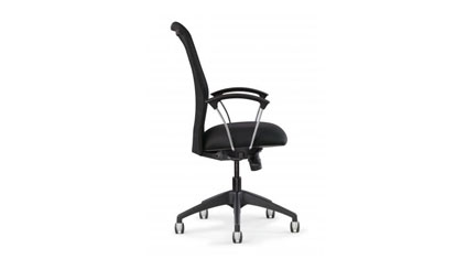 Allseating Inertia Mesh Back Conference Highback Executive Office Chair