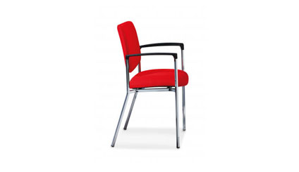 Allseating Twist Side – Upholstered Back Chair