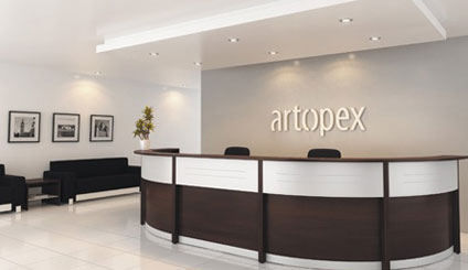 Artopex Reception Desks
