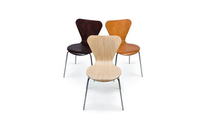 ART DESIGN INTERNATIONAL CLOVER STACKING CHAIRS