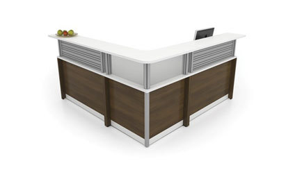 Artopex L Shaped Reception Desk