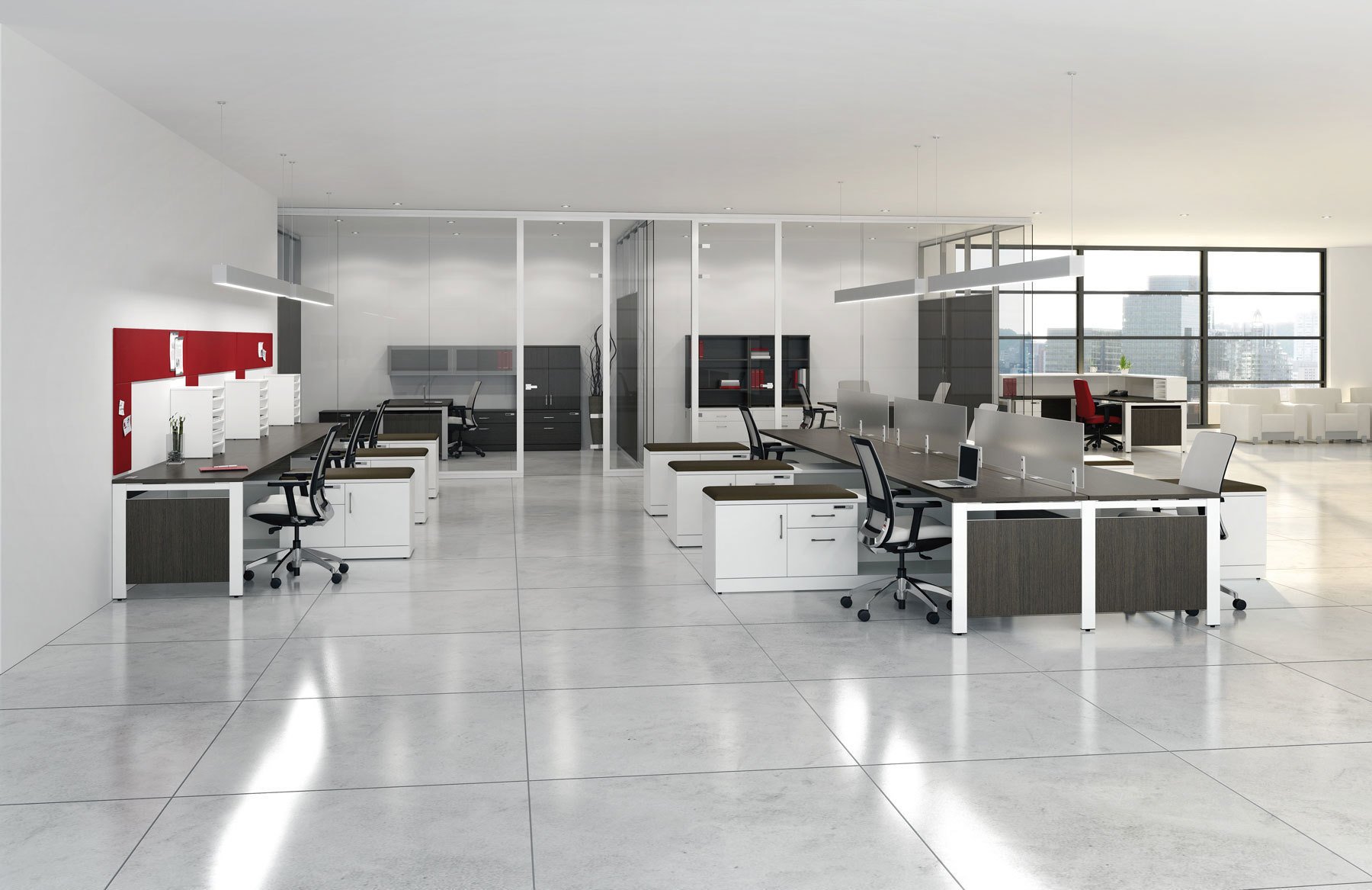 Stouffville office furniture interior design space for Interior design of office space